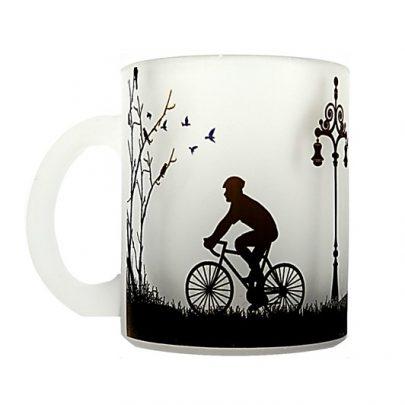 tazon hombre bicicleta camellia