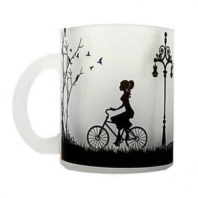 tazon mujer bicicleta camellia