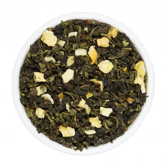 oolong te té azul tea teteria camellia manzana nuez nueces capricho
