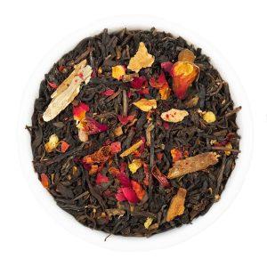 té te pu-erh rojo canela rosas teteria camellia tea