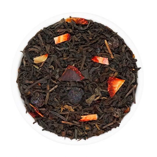 te té rojo pu-erh berries arandanos frutillas frutos del bosque teteria camellia en canto del bosque