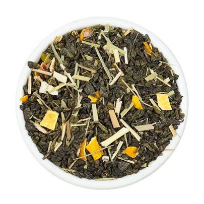 limu te ver gundpower pinhead lemongrass limón té tea teteria camellia