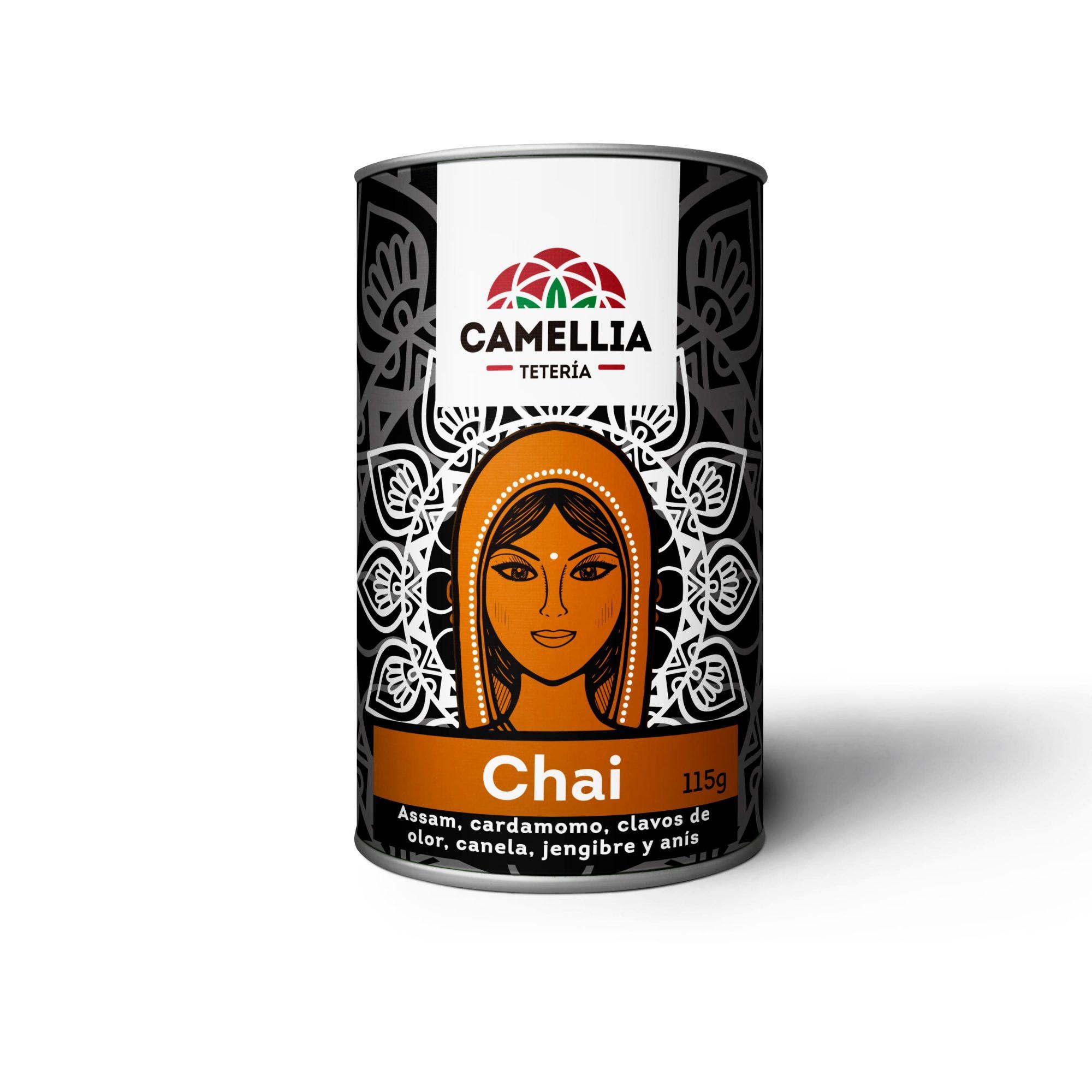 Chai té negro assam cardamomo anis clavos de olor jengibre canela
