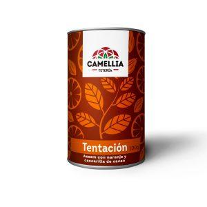 tentacion te negro assam con naranja y cacao ecuatoriano