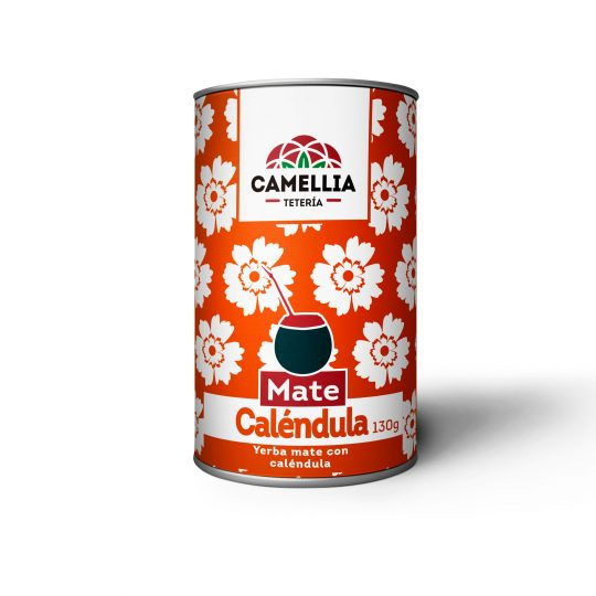 Yerba mate caléndula calendula flor te té tea teteria camellia