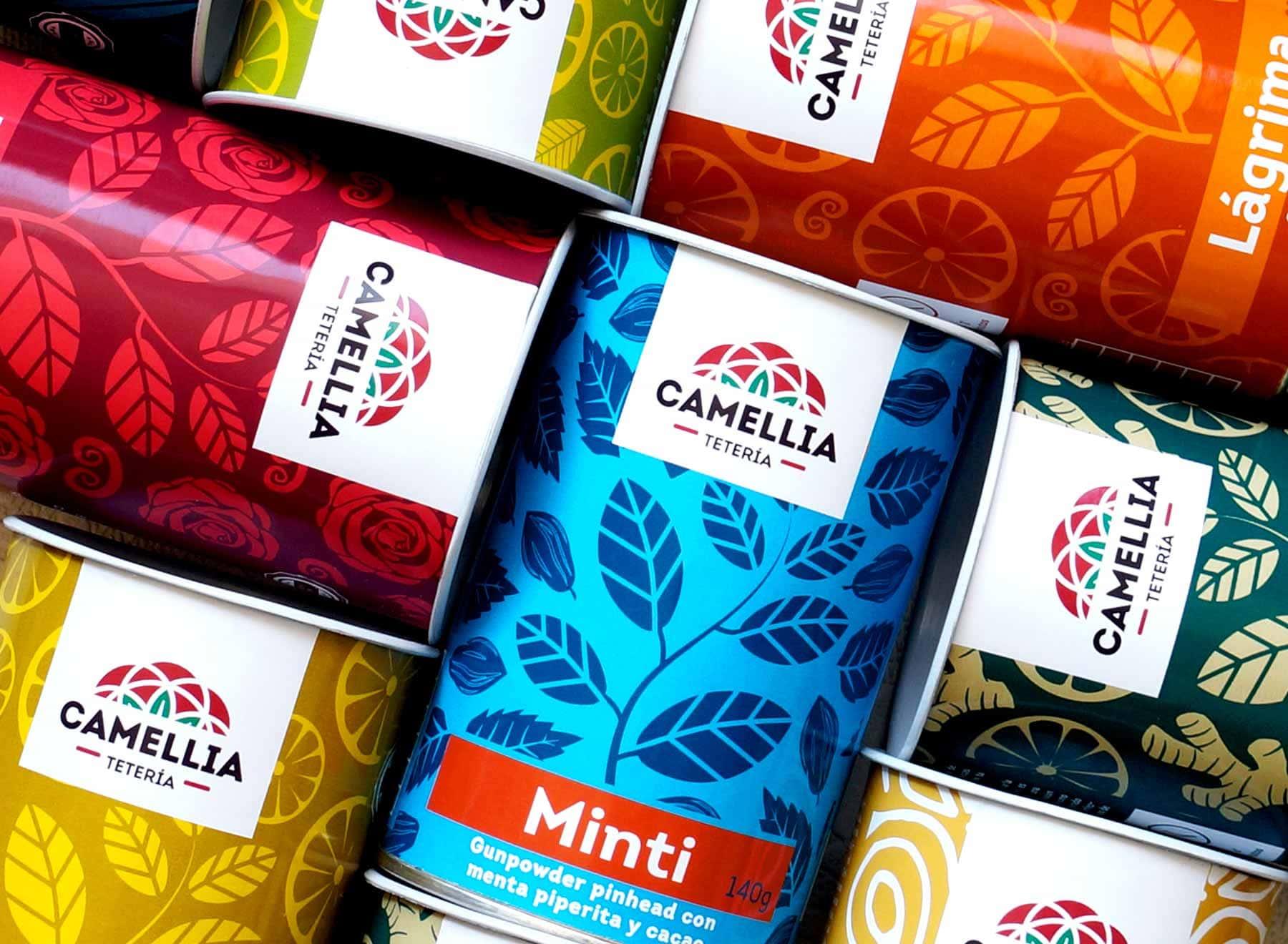 té teteria camellia tarros tea te