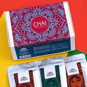 trilogía chai té tea