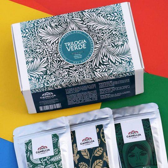 trilogía de té verde tea