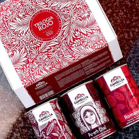 trilogia té rojo pu-erh